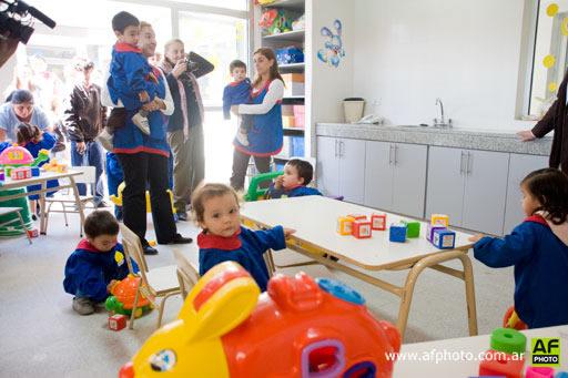 Se inaugur el jard n maternal municipal n 2 for Actividades para jardin maternal