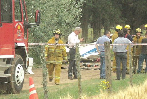 Accidente fatal en el Aeroclub de Mercedes